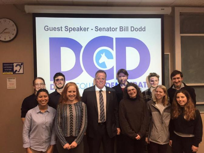 State Senator Bill Dodd Attends Winter Quarter Kick Off